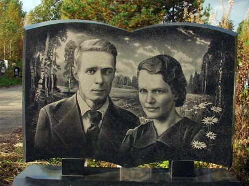 Реставрация фотографии для нанесения на гранитный памятник