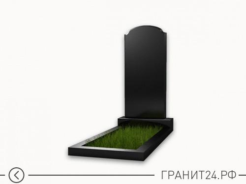 Памятник прямой с закругленными краями