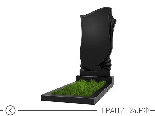 Парный памятник из гранита на одну могилу