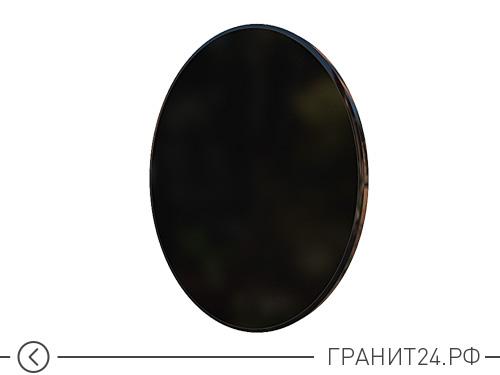 Плитка портретная из черного гранита