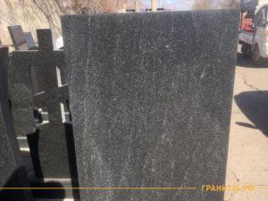 Памятник из черного гранита Габбро Диабаз