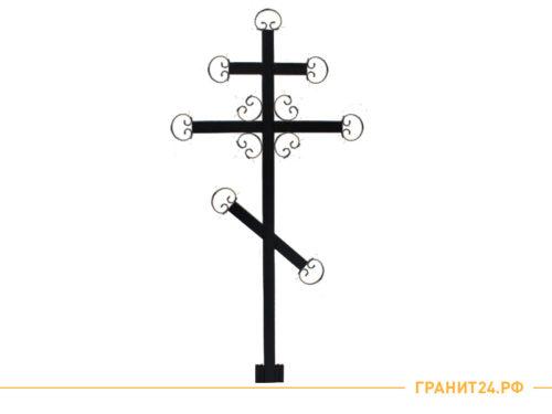 Крест №3 малый для установки на кладбище высота 200 ширина 86