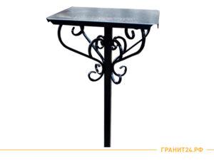Стол №1 металлический кованный