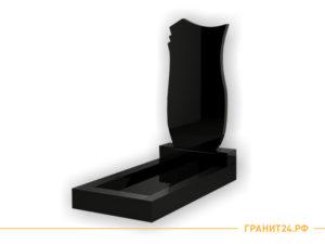 Памятник №18 фигурный из гранита черного цвета