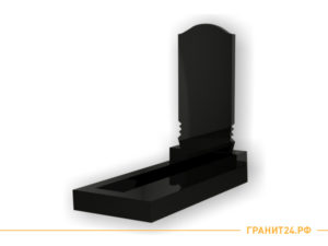 Памятник большой прямоугольный овальной формы №20
