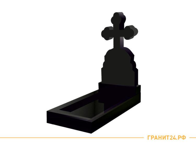 Памятник из гранита в форме креста №21